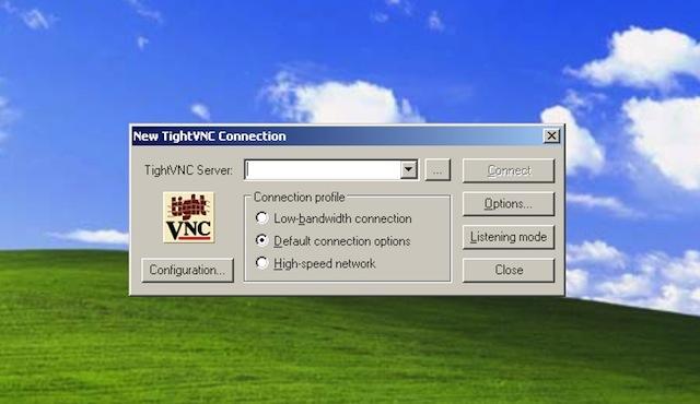 quản lý máy tính từ xa TightVNC